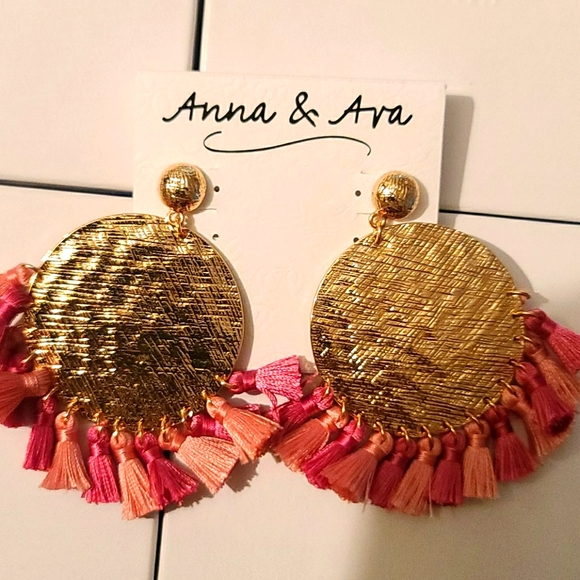 Anna & Ava pink and gold
